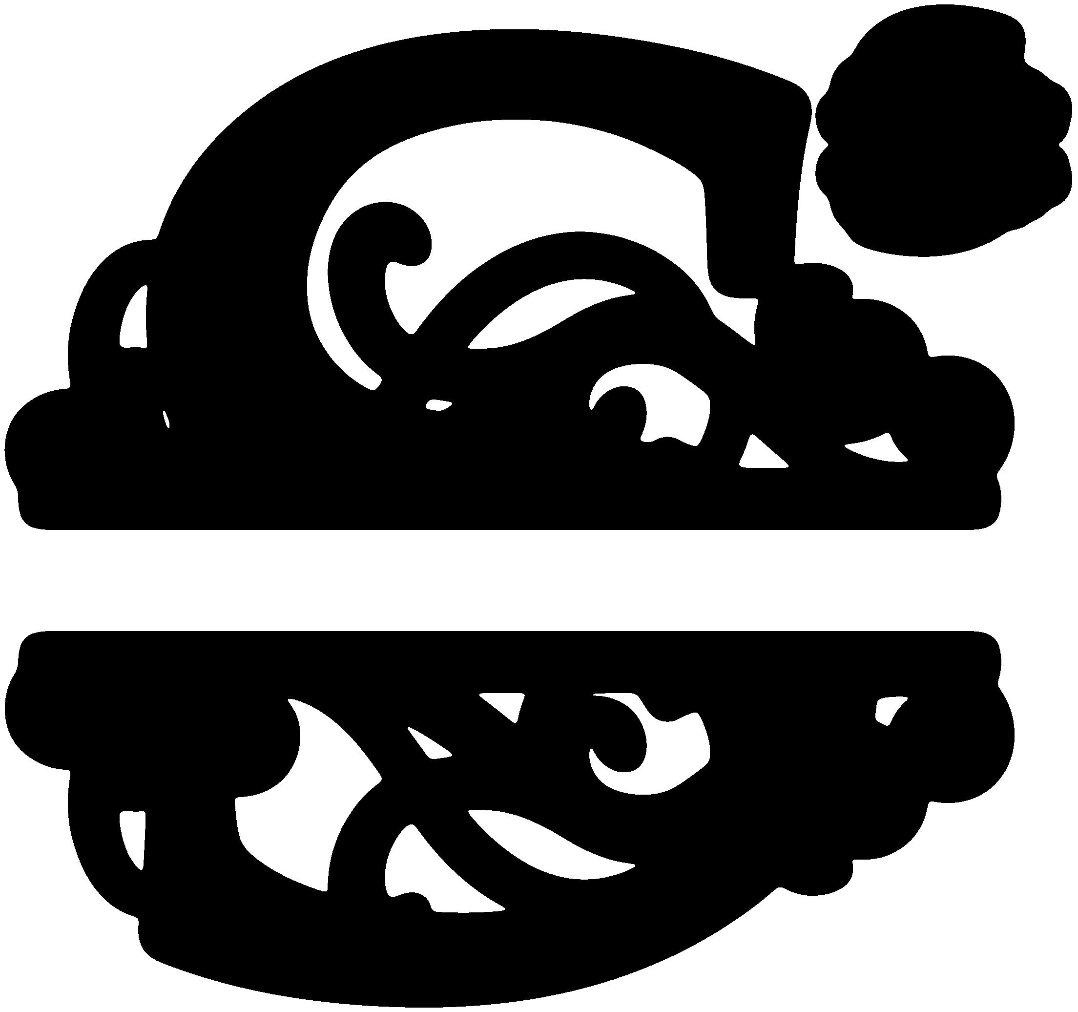 S monogram clipart free png download K Monogram Alphabet Clipart - Clipart Kid png download