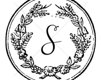 S monogram clipart free png library S Monogram Wedding | Clipart Panda - Free Clipart Images png library