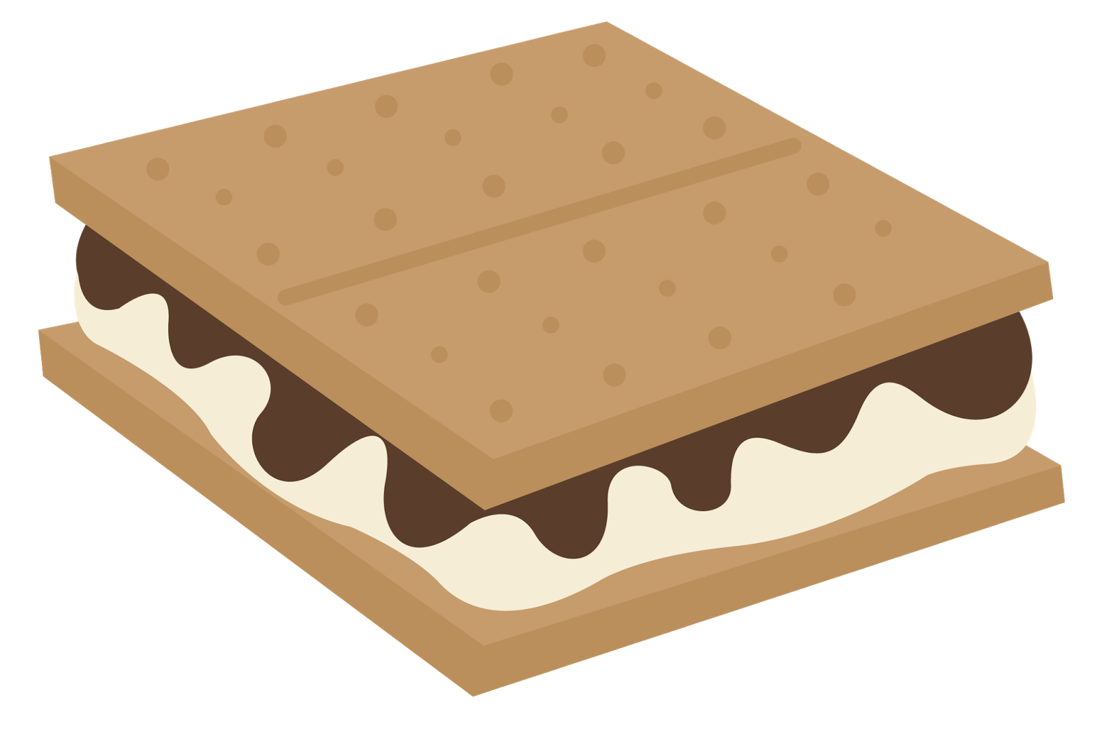 S mores clipart picture freeuse stock S'mores Clipart - Clipart Kid picture freeuse stock