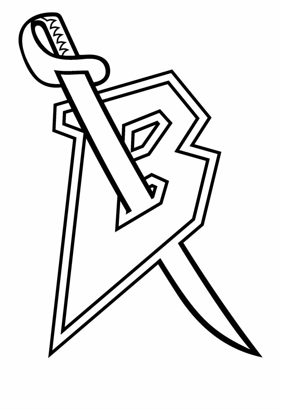 Sabres logo clipart jpg royalty free stock Buffalo Sabres Logo Black And White - Sabres Red B Logo ... jpg royalty free stock