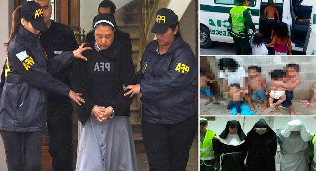Sacerdotes monjas iglesia catolica clipart black and white freeuse library Arrestan a monjas que tenían a 25 niños sordomudos en un ... freeuse library