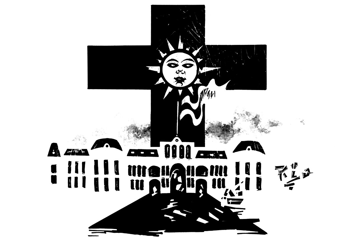 Sacerdotes monjas iglesia catolica clipart black and white picture library library La casa (de Dios) está en orden? La crisis de la Iglesia ... picture library library