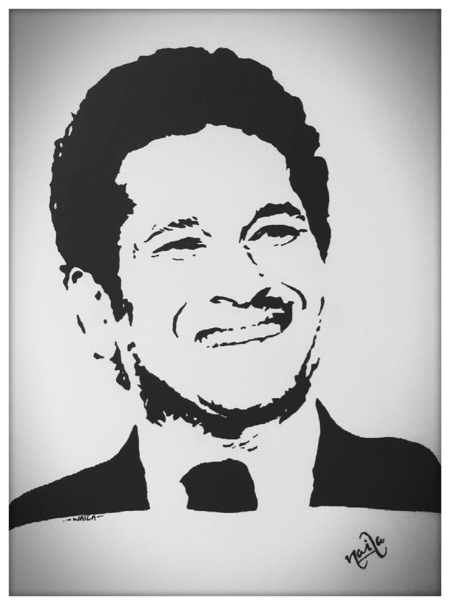 Sachin clipart jpg transparent stock Sachin stencil | Vectors in 2019 | Art drawings, Art ... jpg transparent stock