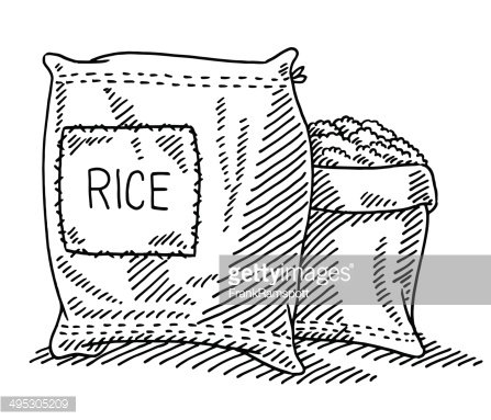 Sack of rice clipart clipart free stock Sack of Rice Drawing premium clipart - ClipartLogo.com clipart free stock