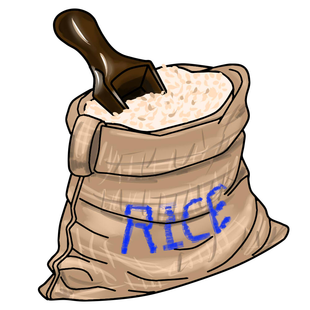 Sack of rice clipart jpg library download Sack of rice clipart 8 » Clipart Station jpg library download