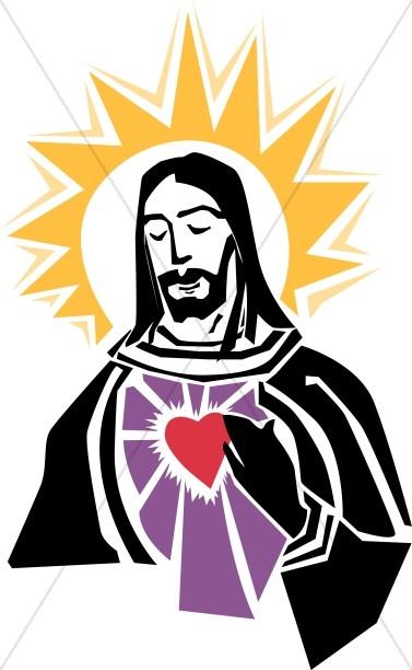 Sacred heart christian clipart clipart free library Sacred Heart of Christ | Inspirational Clipart clipart free library