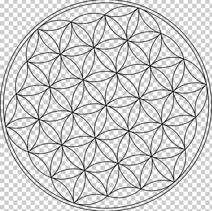 Sacred geometry clipart svg library stock Overlapping Circles Grid Symbol Sacred Geometry PNG, Clipart ... svg library stock