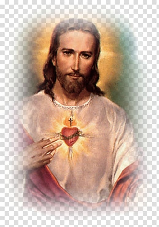 Sacred heart christian clipart picture royalty free library Jesus Christ portrait painting, Jesus Feast of the Sacred ... picture royalty free library