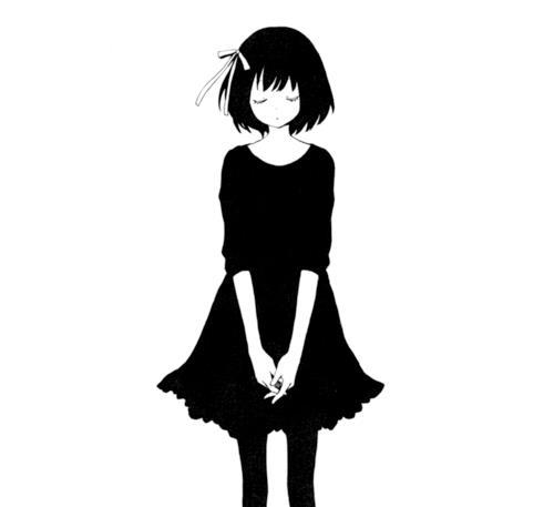 Sad anime clipart banner library library Sad Anime Girl Drawing | Free download best Sad Anime Girl ... banner library library