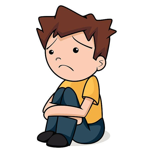 Sad boy with flowers clipart graphic transparent library Sad boy sitting clipart 6 » Clipart Portal graphic transparent library