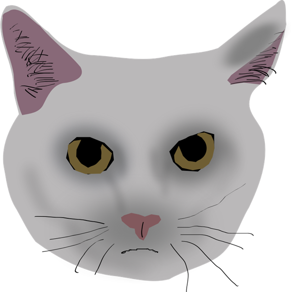 Sad cat face clipart jpg free stock Free Cat Face Clipart, 1 page of free to use images jpg free stock
