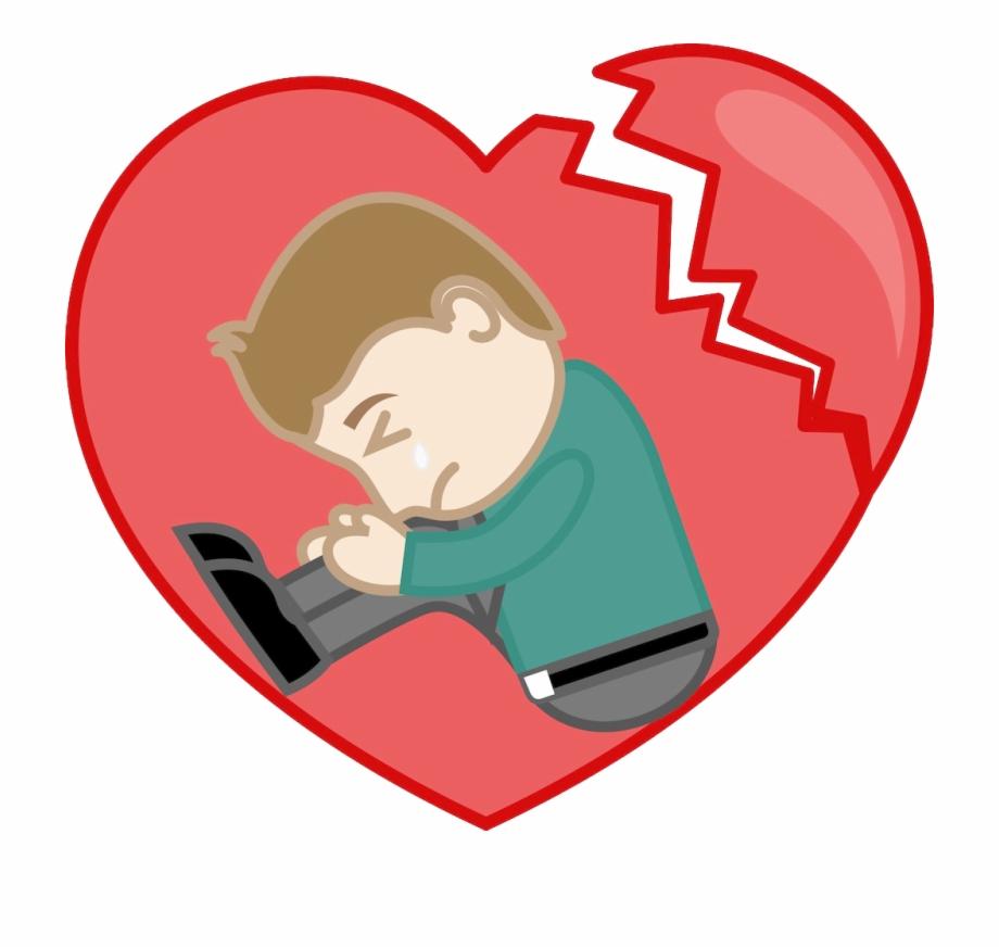 Sad clipart for picsart picture library download Broken Heart Sadness Drawing Clip Art - Broken Heart Sad ... picture library download