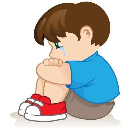 Sad clipart pictures jpg black and white download Sad kid clipart 1 » Clipart Portal jpg black and white download