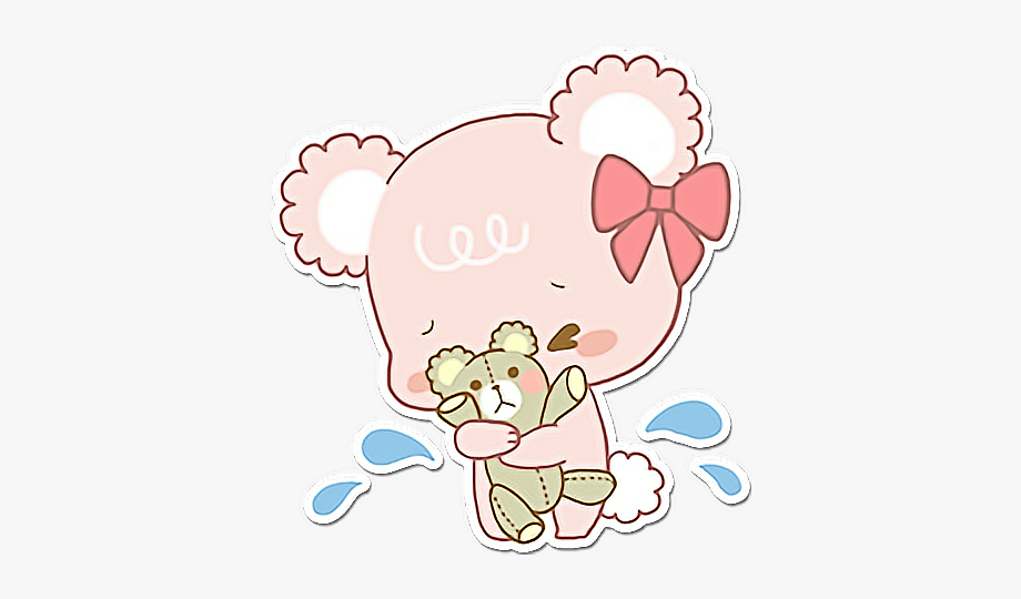 Sad clipart sticker picture transparent library sugarcubs #osita #bear #girl #crying #sad #ositos - Sticker ... picture transparent library