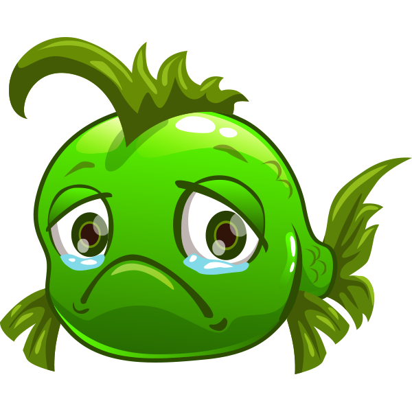 Sad clipart sticker png transparent Sad Fish   Facebook-Symbols Miscellaneous, Cool   Smiley ... png transparent