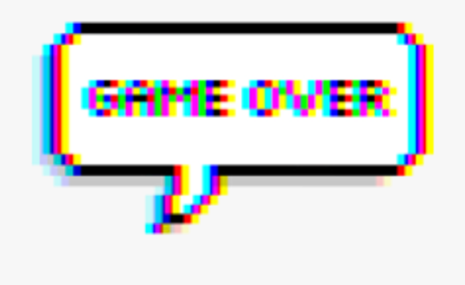 Sad clipart text svg library stock aesthetic #vaporwave #sad #glitch #gameover #text ... svg library stock