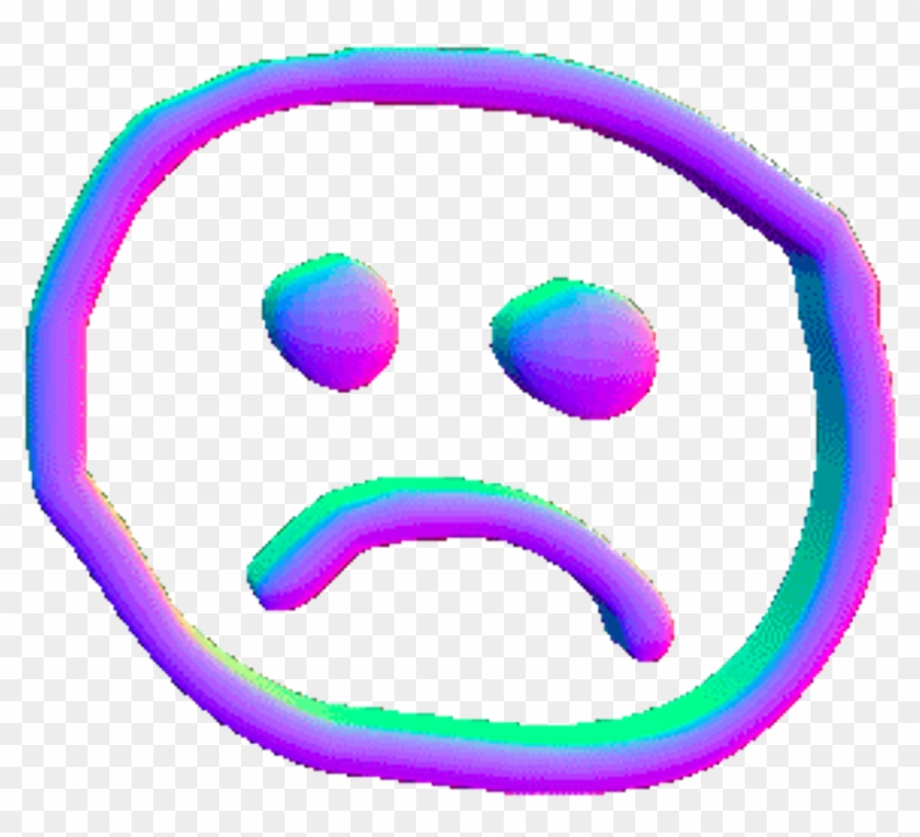 Sad cliparts tumblr clipart transparent library Sad Holographic Face Png Grunge Tumblr Png Pngedit ... clipart transparent library