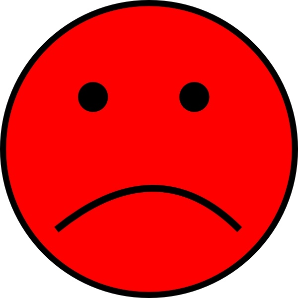 Sad face clipart image freeuse download Frowny Face clip art Free vector in Open office drawing svg ... image freeuse download