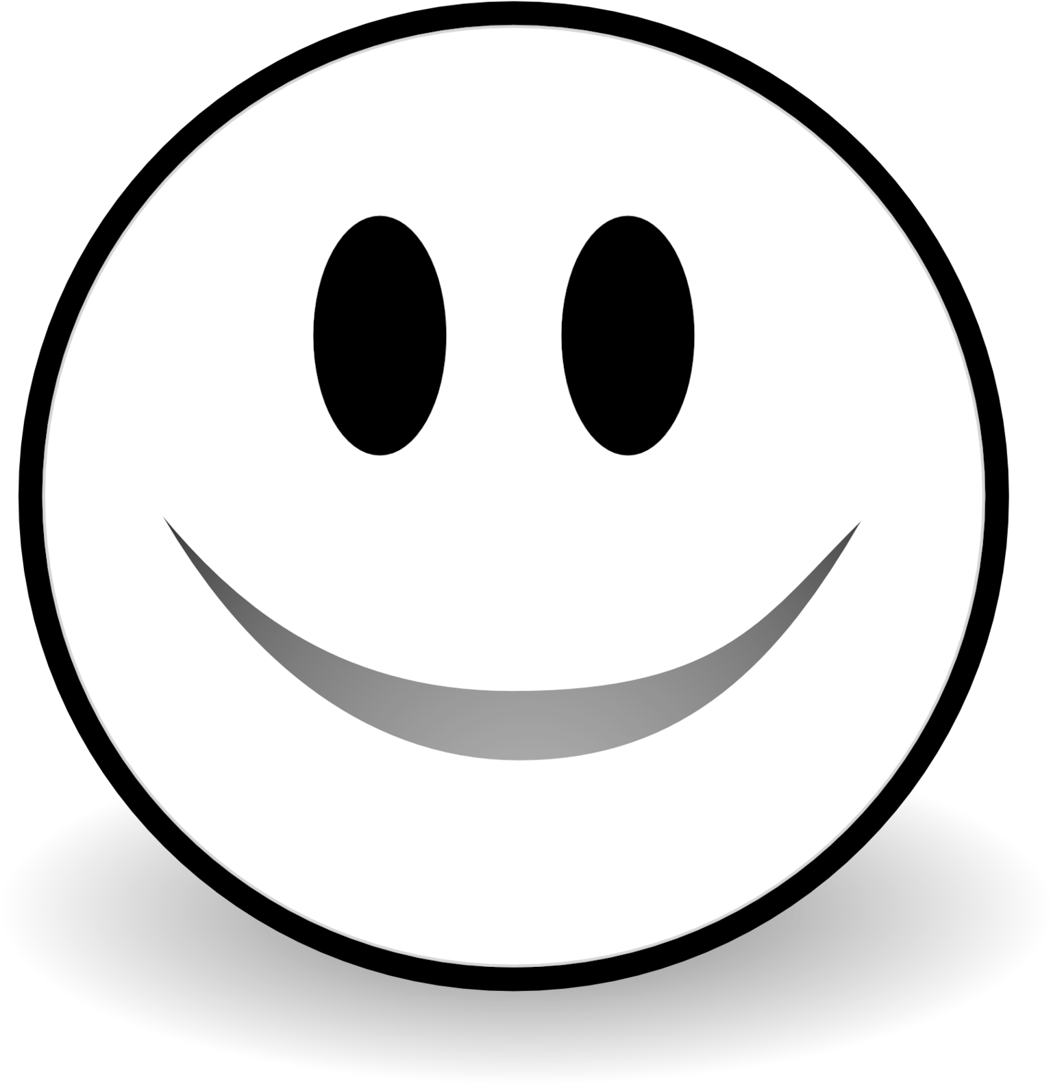 Sad face clipart black and white banner royalty free library HD Fullsize Of Black And White Smiley Face - Sad Face ... banner royalty free library