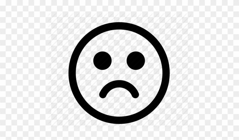Sad face clipart transparent graphic black and white download Sad face clipart transparent 2 » Clipart Portal graphic black and white download