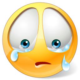 Sad face with tears clipart jpg free Crying Smiley | ᴇᴍᴏᴊɪ | Smiley symbols, Crying emoji ... jpg free