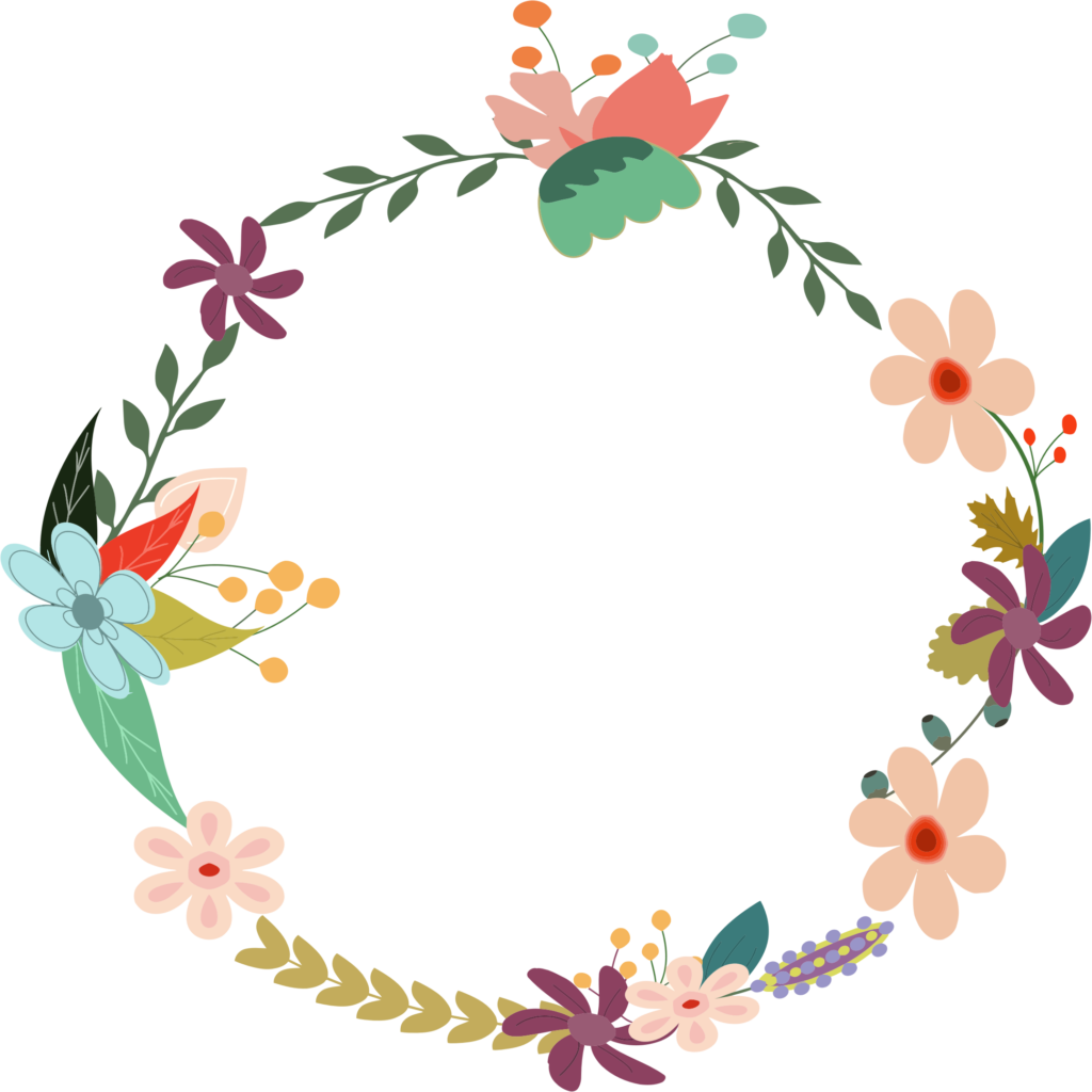 Vintage Flower Clipart School Clipart | errortape.me graphic royalty free