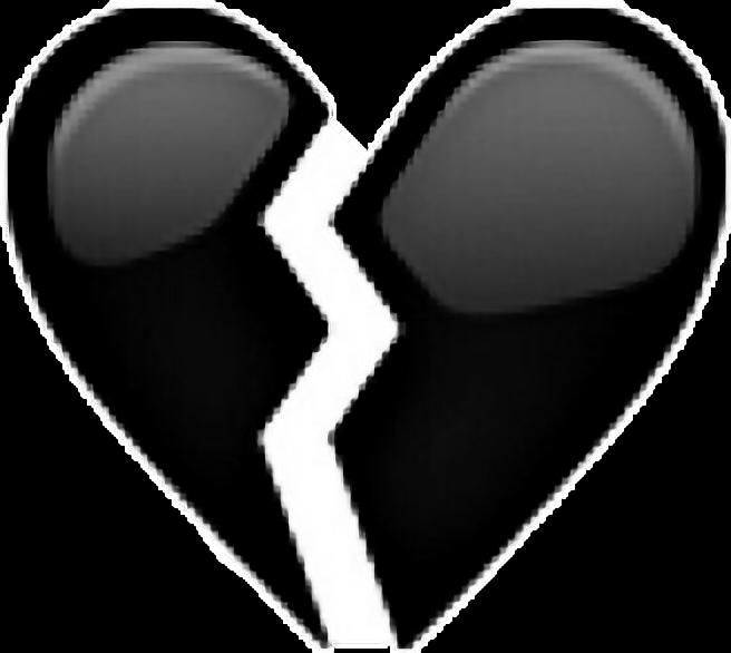 Sad heart clipart clipart broken sad unhappy tumblr emoji... clipart