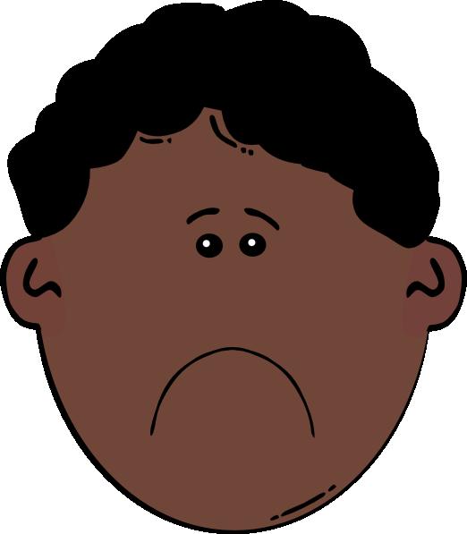 Sad heart clipart clip royalty free sad-black-boy-clipart-1.jpg (522×597) | big truths for little kids ... clip royalty free