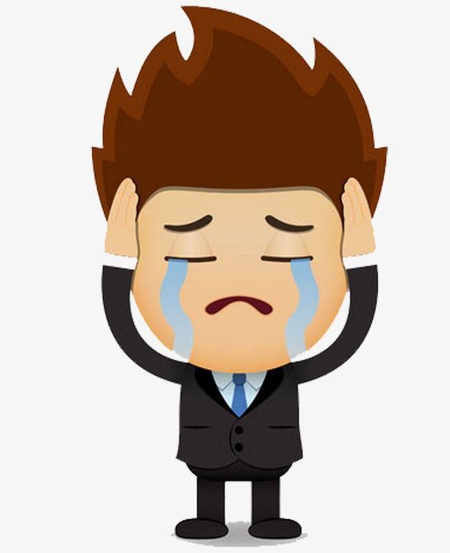 Sad man clipart jpg royalty free Sad Man, Man Clipart, Sad Clipart, The Man PNG Transparent ... jpg royalty free