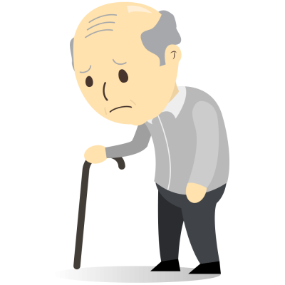 Sad old man clipart png black and white stock Sad Old Man Clipart Png Images png black and white stock