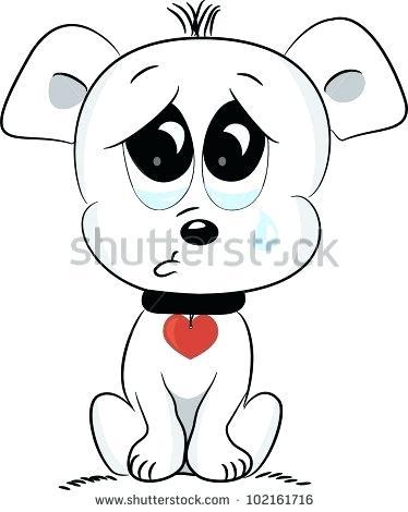 Sad puppy eyes clipart clip art download sad cartoon puppy – edenolur.co clip art download