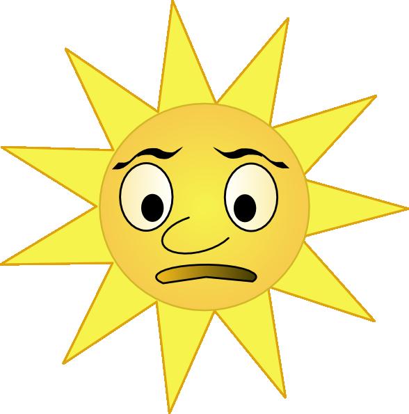 Sad sun clipart image royalty free stock Sun Clip Art at Clker.com - vector clip art online, royalty free ... image royalty free stock