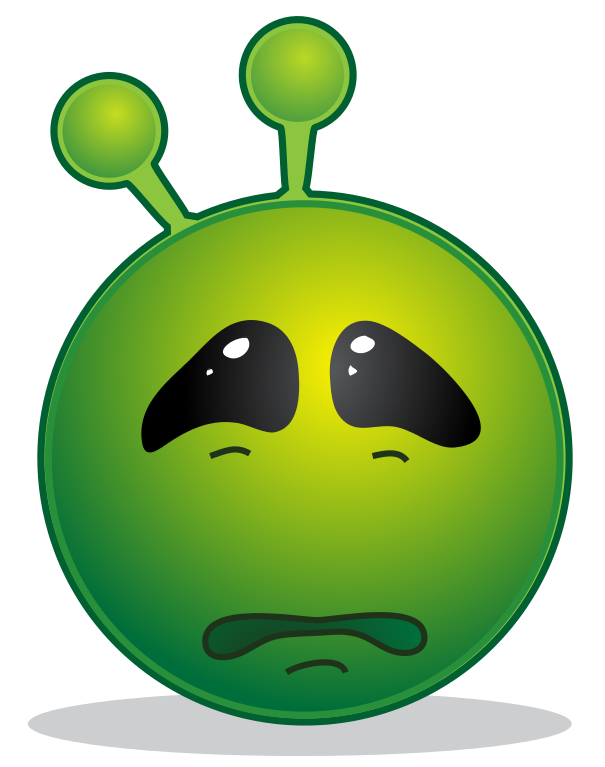 Walnut tree clipart png free stock File:Smiley green alien sad.svg - Wikipedia png free stock
