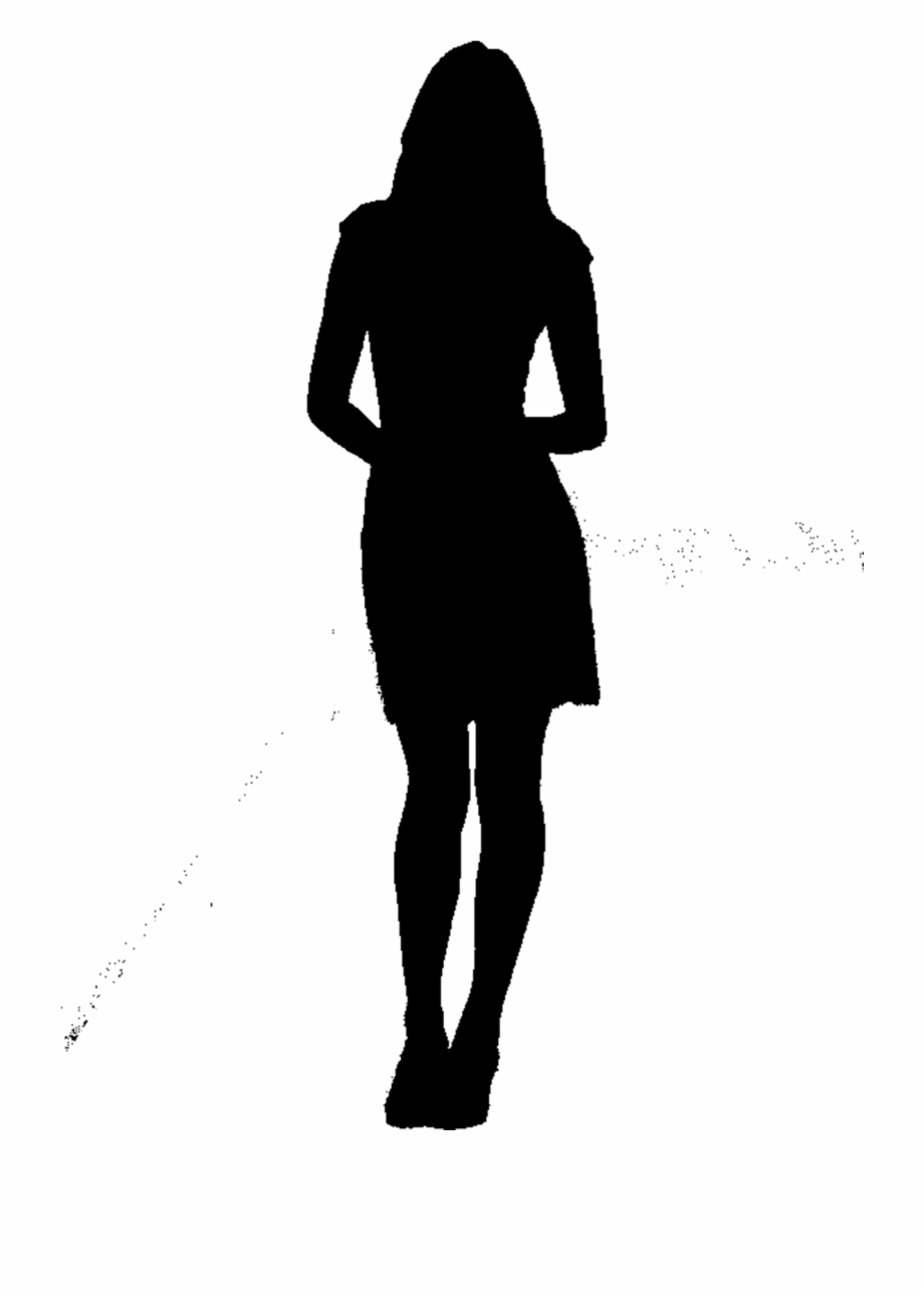 Sad woman clipart silhouette picture black and white Woman Silhouette Png Sad , Png Download - Man With ... picture black and white