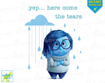 Sadness inside out clipart png royalty free stock Inside out clip art | Etsy png royalty free stock