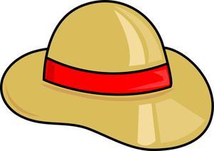Safari hat clipart svg free library Safari Hat | Weather Clipart svg free library