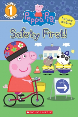 Safety first pink clipart freeuse library Scholastic Canada | Peppa Pig: Safety First freeuse library