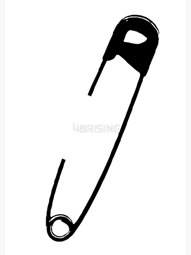 Safety pin solidarity clipart graphic freeuse Safety Pin 1 | Spiral Notebook graphic freeuse