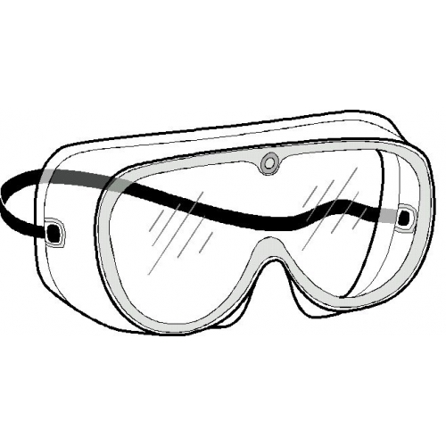 Safety through inspiration clipart png black and white Safety goggles clipart cliparts and others art inspiration ... png black and white