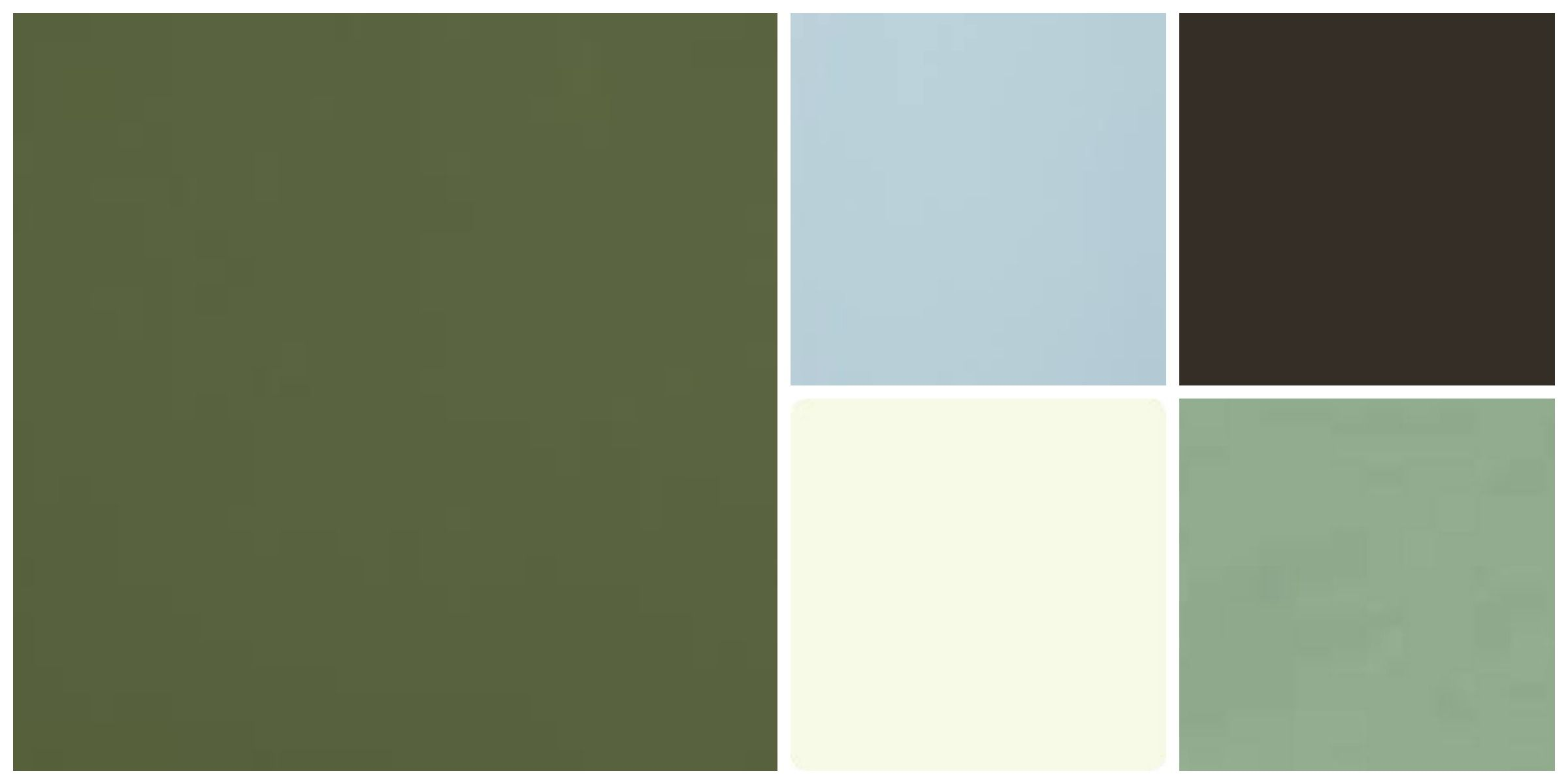 Sage colored house clipart image transparent library my color palette!!! Army green, sage green, light cream ... image transparent library