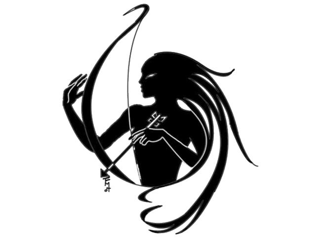Sagittarius clipart free graphic black and white Tattoo Sagittarius Astrological sign Zodiac Cancer - Zodiac ... graphic black and white