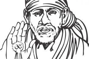 Sai baba clipart vector royalty free Shirdi sai baba clipart 7 » Clipart Portal vector royalty free
