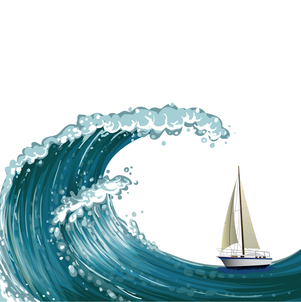 Sailing off the edge of the world clipart free stock Sailing in the Boat   Elementary Music   Sea waves, Waves ... free stock
