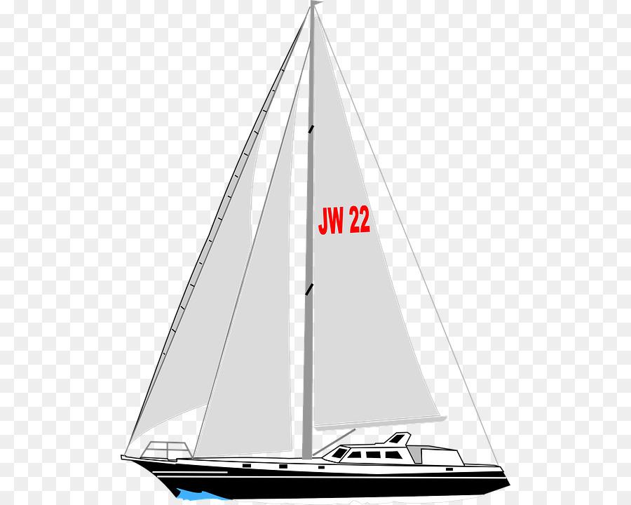 Sailing yacht images clipart vector free Cat Cartoon clipart - Sailboat, Sailing, Boat, transparent ... vector free