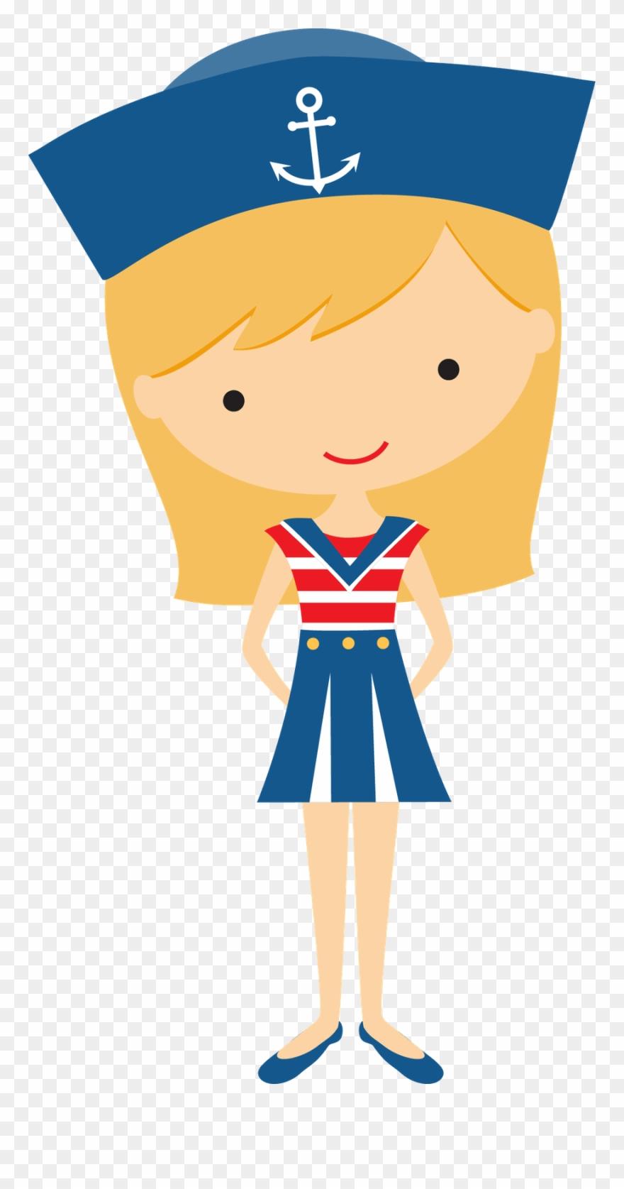 Sailor clipart clip stock Sailor Girl Clip Art - Nautical Theme Hats Clipart - Png ... clip stock