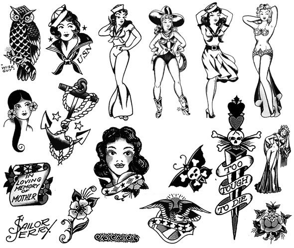 Sailor jerry clip art clip art royalty free download Sailor jerry clip art - ClipartFest clip art royalty free download