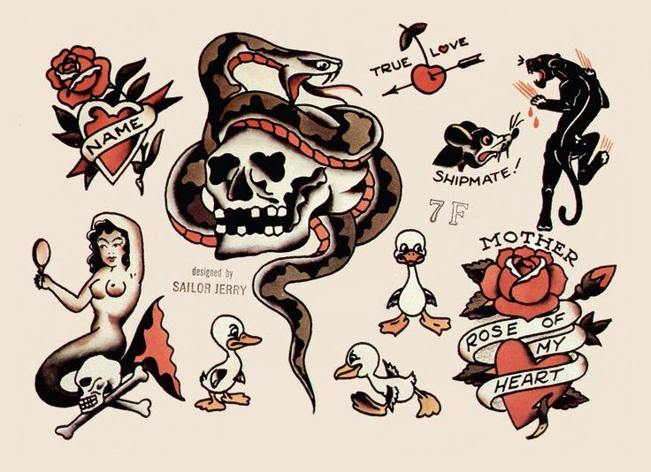 Sailor jerry clip art transparent 17 Best images about Sailor Jerry on Pinterest | Vintage tattoo ... transparent