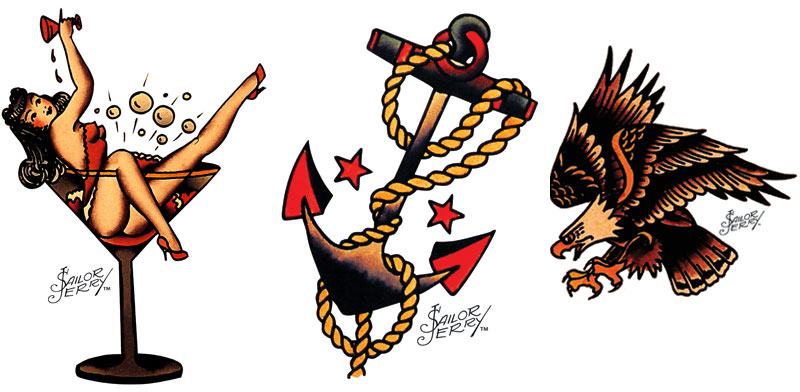 Sailor jerry clip art picture freeuse download Sailor Jerry: The Man, The Rum, The Tattoos and The Cult picture freeuse download