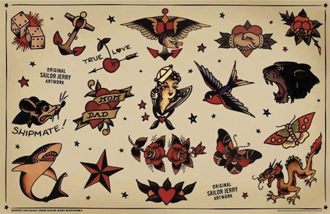 Sailor jerry clip art jpg library library 17 Best images about Sailor Jerry on Pinterest | Marriage tattoos ... jpg library library