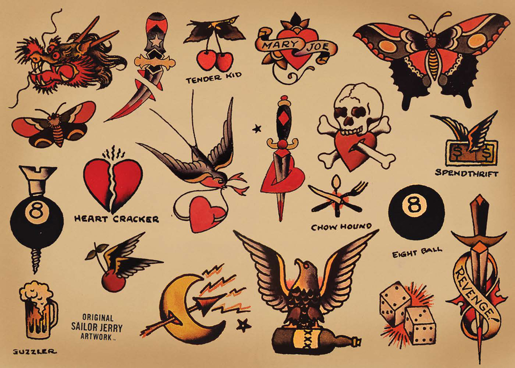 Sailor jerry clip art png free Sailor jerry clip art - ClipartFest png free